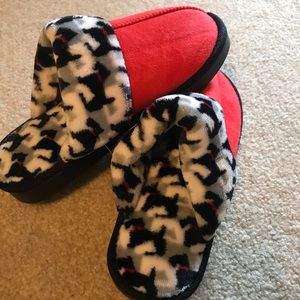 Vera Bradley Scottie Dogs Slippers